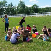 Summer Camp horses Maine