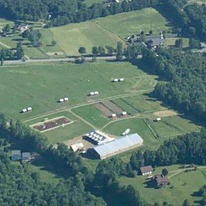 farm, from sky